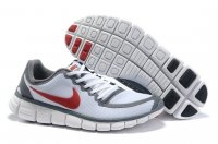 Mens Nike Free 5.0 V5 White Red