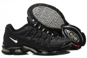 Mens Nike Air Max TN Viii Black Silver
