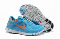Womens Nike Free 5.0 V3 Blue Orange