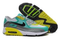 Mens Air Max 90 Lunar C3.0 White/Turquoise/Grey/Black/Volt