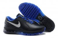 Mens Nike Air Max 2014 Black Royal Blue Leather