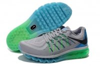 Mens Air Max 2015 Grey Green