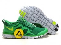 Mens Nike Free 3.0 V3 Green Yellow