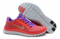 Womens Nike Free 3.0 V4 Red Purple