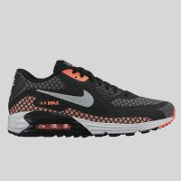 Nike Air Max Lunar90 BR Black Silver Hot Lava