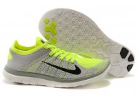 Mens Nike Free 4.0 Flyknit Grey Green