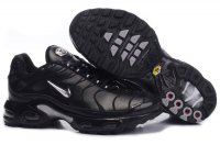 Womens Nike Air Max TN Black Silver White