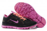 Womens Nike Free 5.0 Black Rose