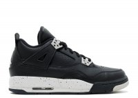 "air jordan 4 retro bg (gs) ""oreo"""