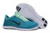 Womens Nike Free 3.0 V5 Green Black