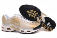 Mens Nike Air Max TN I White Gold