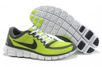 Mens Nike Free 5.0 V5 Grey Green