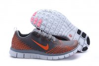Mens Nike Free 5.0 V4 Grey Orange