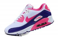 Womens Nike Air Max 90 Premium EM White/Pink/Purple