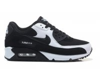 Men&Womens Nike Air Max 90 Premium Black White