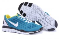Mens Nike Free TR Fit White Blue