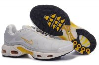 Mens Nike Air Max TN I White Yellow