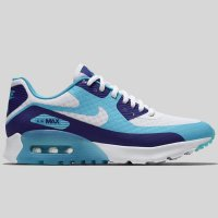 Nike Wmns Air Max 90 Ultra BR Deep Royal Blue White Tide Pool Bl