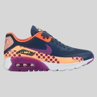 Nike Wmns Air Max 90 Ultra BR Print Squadron Blue Vivid Purple S