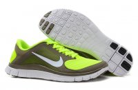 Womens Nike Free 4.0 V3 Yellow