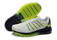 Mens Air Max 2015 Light Grey Green