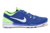 Mens Nike Free 5.0 V2 Training Blue Lemon