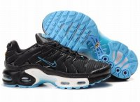 Womens Nike Air Max TN Black Skyblue