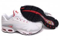 Mens Nike Air Max TN Iii White Red Grey