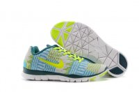 Womens Nike Free TR Fit Blue Yellow