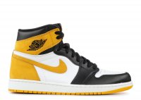 "air jordan 1 retro high ""yellow ochre"""