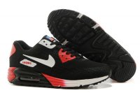 Mens Air Max 90 Hyperfuse Premium Black/Red/White