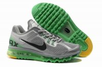 Mens Air Max 2013 Silver Green