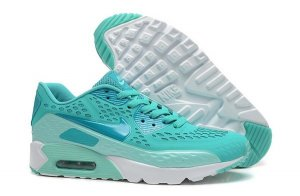 Womens Air Max 90 Ultra BR Turquosice Blue/White
