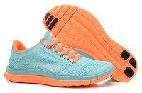 Womens Nike Free 3.0 V5 Blue Orange
