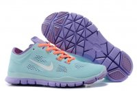 Womens Nike Free 5.0 Green Purple
