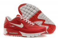 Mens Air Max 90 Breathe University Red/White