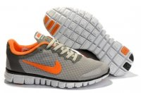 Womens Nike Free 3.0 V2 Grey Orange