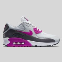 Nike Wmns Air Max 90 Essential Pure Platinum Fuchsia Flash