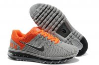 Mens Air Max 2013 Grey Orange