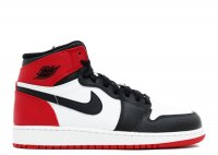 "air jordan 1 retro high og gs ""black toe"""