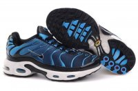 Mens Nike Air Max TN I Black Deepskyblue