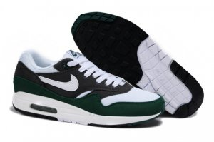 Mens Air Max 87 White Green Black