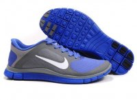 Mens Nike Free 4.0 V3 Blue Grey