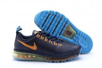 Mens Nike Air Max 2014 Deep Blue Orange