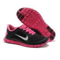 Womens Nike Free 4.0 V3 Black Red