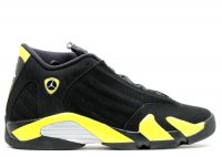 "air jordan 14 retro bg (gs) ""thunder"""