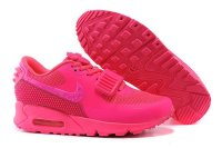 Womens Nike Air Max 90 Air Yeezy 2 SP Pink Red