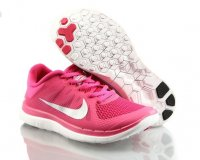 Womens Nike Free 4.0 Pink Silver