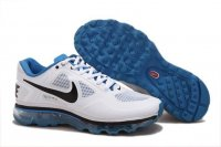 Mens Air Max 2013 Trainer 1.3 White Blue