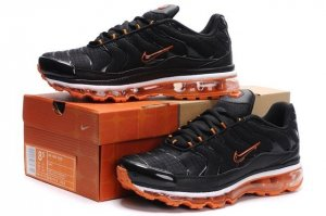 Mens Nike Air Max TN I Black Orange